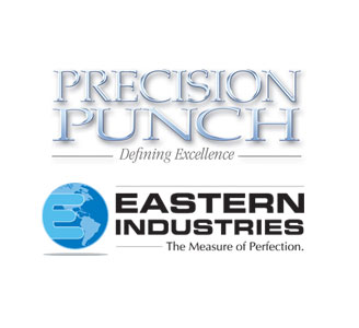 Precision Punch and Eastern Industries - Logos
